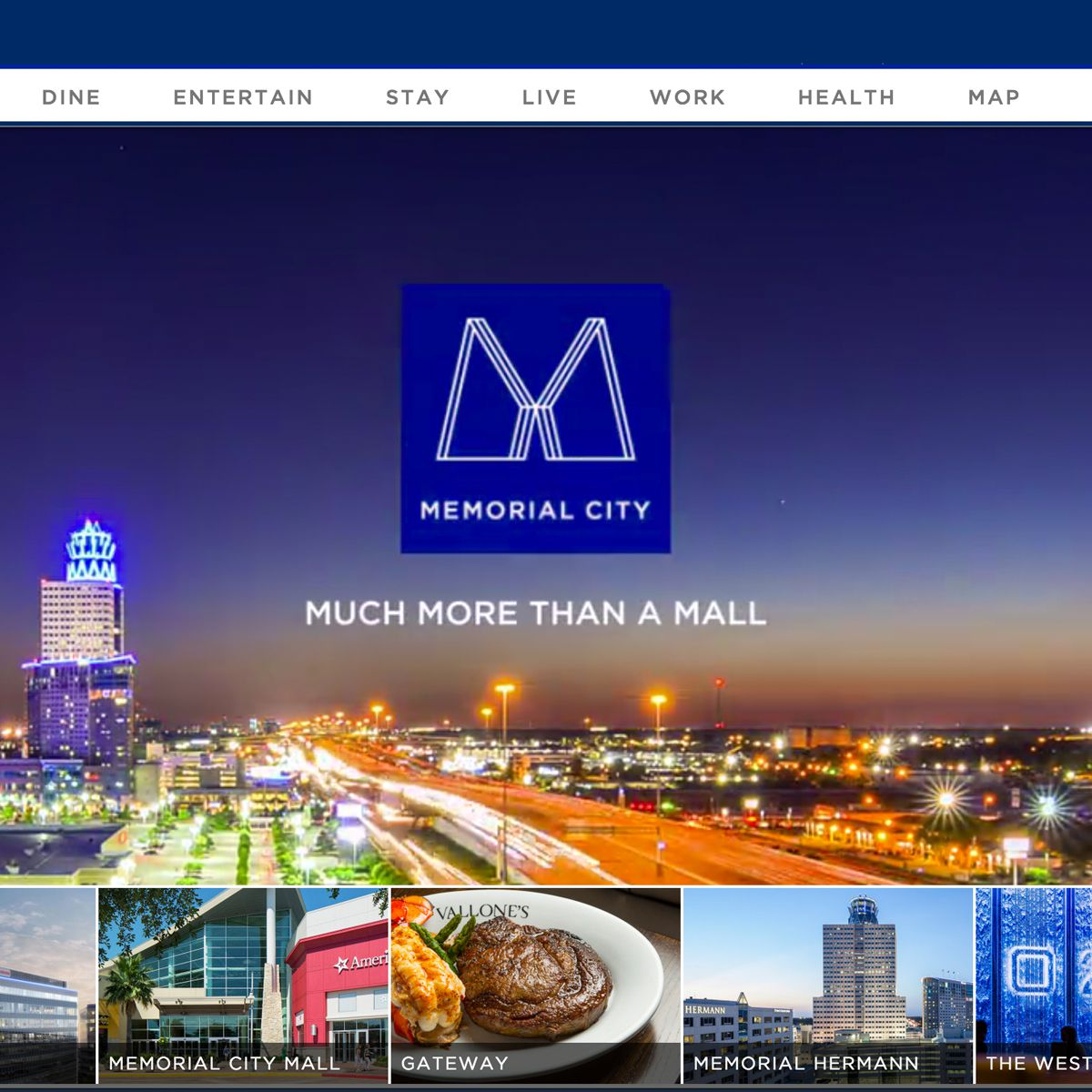 Map Of Memorial City Mall Houston Tx